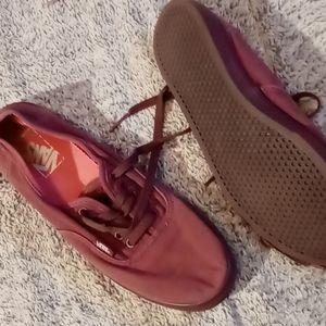 Vans Shoes, Women's 7.5, Maroon
